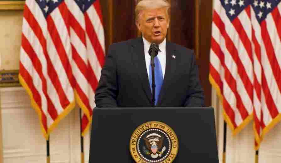Трамп је одржао опроштајни говор