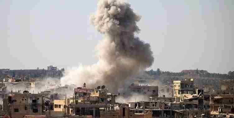 Израел напада сиријске градове на граници са Ираком