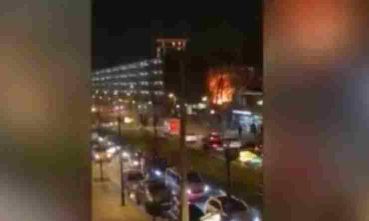 Током јучерашњих нереда у Амстердаму десила се експлозија
