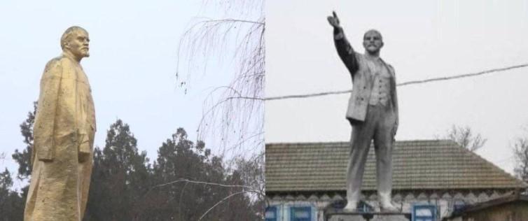 У Украјини руше последња два споменика Лењину