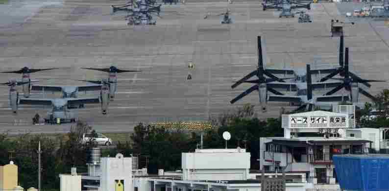Амерички и јапански министри одбране разговарали су о пресељењу америчке ваздухопловне базе на Окинави