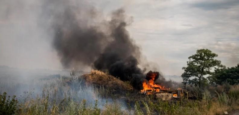 Три припадника оружаних снага Украјине погинула су у пожару