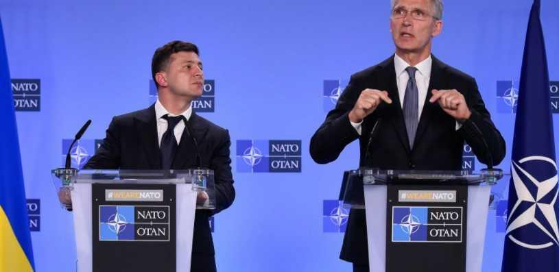 НАТО је известио да се питање чланства Украјине сада не разматра