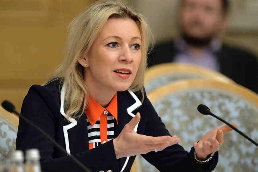 Славите своју домовину спортским достигнућима, а не националистичким паролама - Захарова