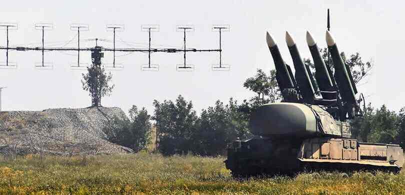 Украјина је извела вежбе користећи ракетне бацаче Бук на граници са Кримом
