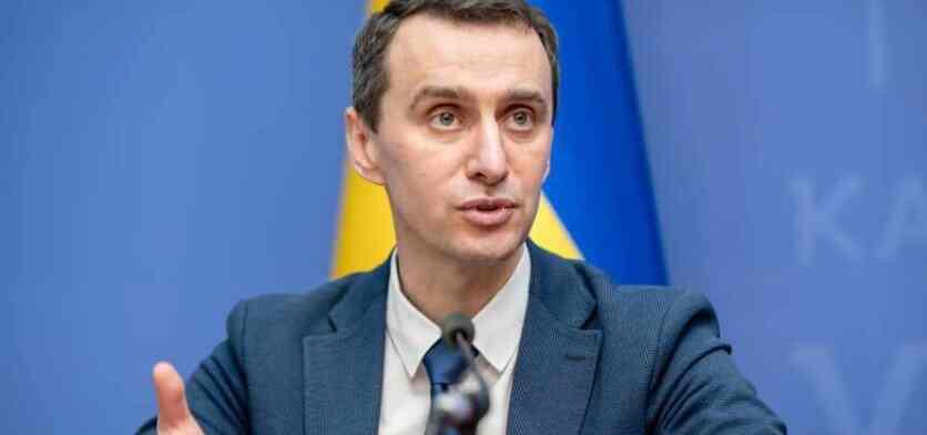 У Украјини је шеф Министарства здравља исмејан због покушаја да за неуспех вакцинације окриви Русију
